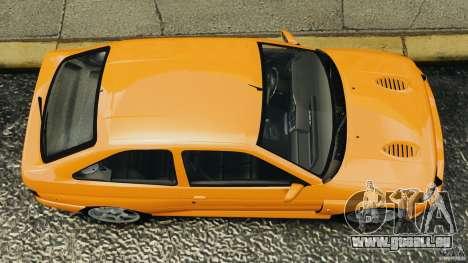 Ford Escort RS Cosworth pour GTA 4 est un droit