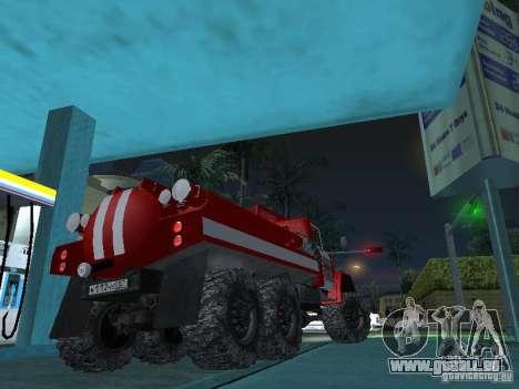ZIL 131 AC-20 für GTA San Andreas zurück linke Ansicht