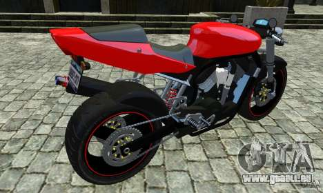 Suzuki Street Fighter Custom pour GTA 4 est une gauche