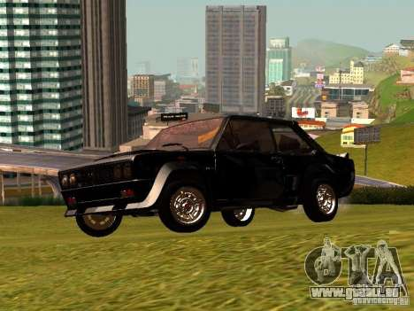Fiat 131 Abarth Rally pour GTA San Andreas vue intérieure