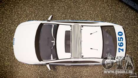 Honda Accord Type R NYPD (City Patrol 7605) ELS pour GTA 4 est un droit
