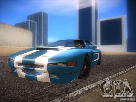 New Infernus pour GTA San Andreas vue de côté