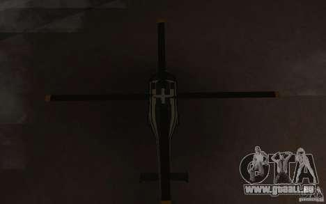 GTA IV Maverick pour GTA San Andreas vue intérieure