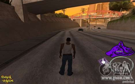 C-HUD by Roodney pour GTA San Andreas
