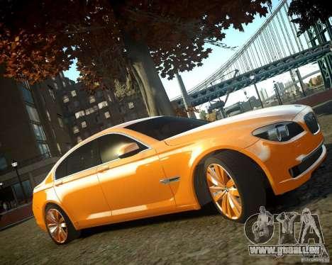 BMW 750Li  2010 für GTA 4 rechte Ansicht