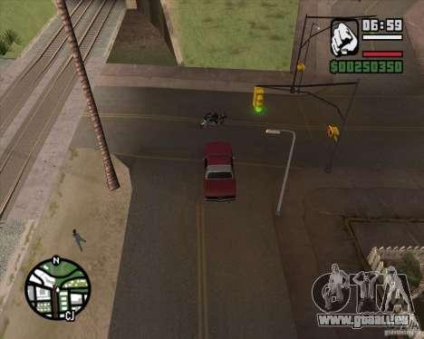 Caméra comme dans GTA Chinatown Wars pour GTA San Andreas deuxième écran
