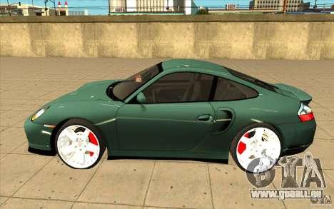 Porsche 911 Turbo für GTA San Andreas linke Ansicht