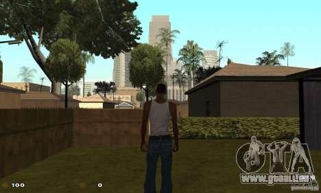 Cs 1.6 HUD pour GTA San Andreas quatrième écran
