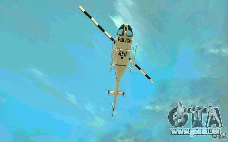 Bell 206 B Police texture1 für GTA San Andreas Seitenansicht