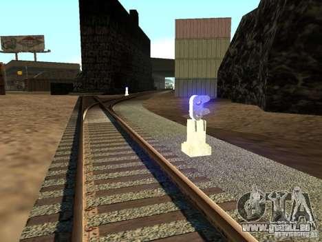 Feux de circulation ferroviaire 2 pour GTA San Andreas deuxième écran
