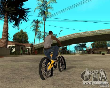 Nox Startrack DH 9.5 für GTA San Andreas zurück linke Ansicht