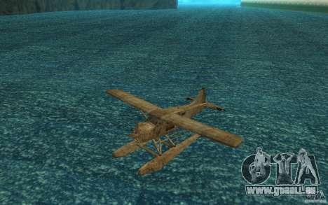 De Havilliand Beaver DHC2 pour GTA San Andreas laissé vue