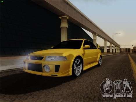 Mitsubishi Lancer Evolution VI für GTA San Andreas rechten Ansicht