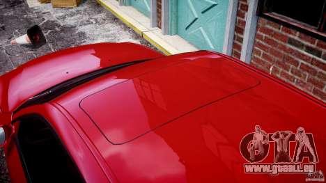 BMW M5 E60 2009 pour GTA 4 Salon