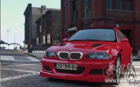 BMW M3 Street Version e46 pour GTA 4