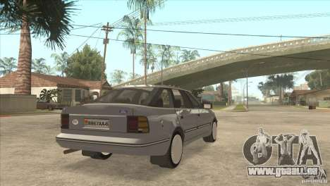 Ford Scorpio pour GTA San Andreas laissé vue
