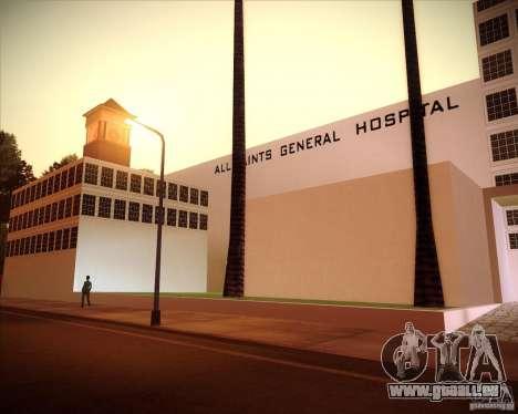All Saints Hospital pour GTA San Andreas troisième écran