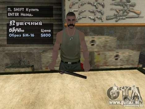 Pak-Inland-Waffen für GTA San Andreas siebten Screenshot