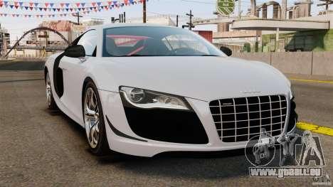 Audi R8 GT Coupe 2011 pour GTA 4