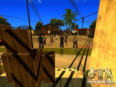 Party zone pour GTA San Andreas deuxième écran