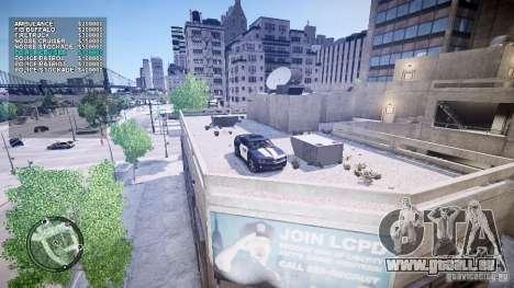Car Shop Mod pour GTA 4 troisième écran