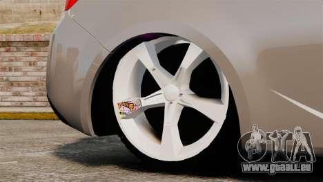 Kia Cerato Koup Edit pour GTA 4 Vue arrière