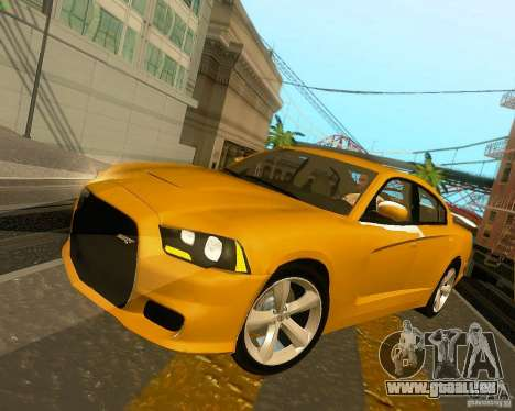 Dodge Charger SRT8 2012 für GTA San Andreas Motor