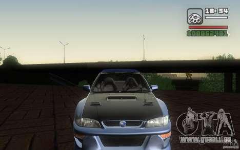 Subaru Impreza 22B für GTA San Andreas Rückansicht