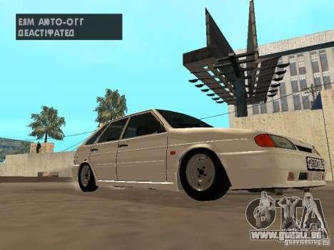ВАЗ 2114 Drain pour GTA San Andreas laissé vue