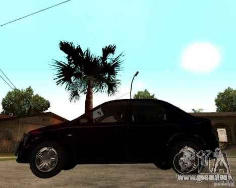 Dacia Logan 2008 für GTA San Andreas linke Ansicht