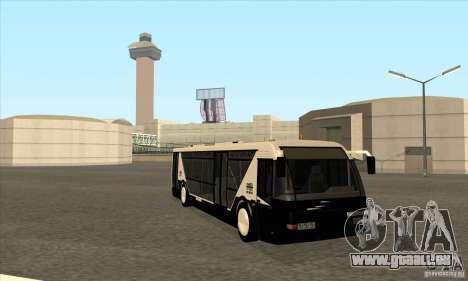 Neoplan Airport bus SA für GTA San Andreas Rückansicht