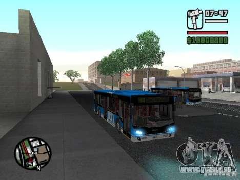 Design-X4-Dreamer pour GTA San Andreas vue intérieure