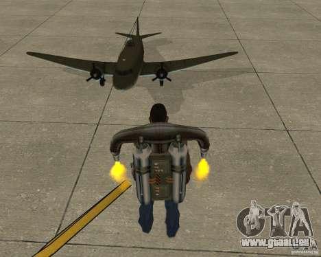Li-2 für GTA San Andreas Rückansicht