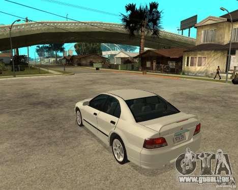 Mitsubishi Galant VR6 für GTA San Andreas linke Ansicht