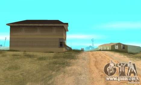 Gebiet in der Wüste für GTA San Andreas dritten Screenshot