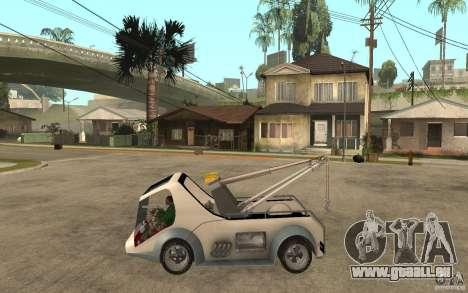 Lil Redd Wrecker pour GTA San Andreas laissé vue