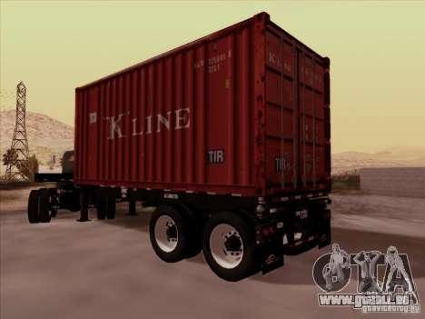 Container für GTA San Andreas zurück linke Ansicht