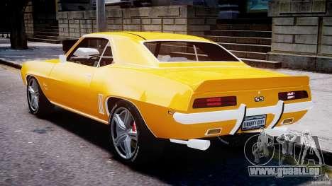Chevrolet Camaro für GTA 4 rechte Ansicht