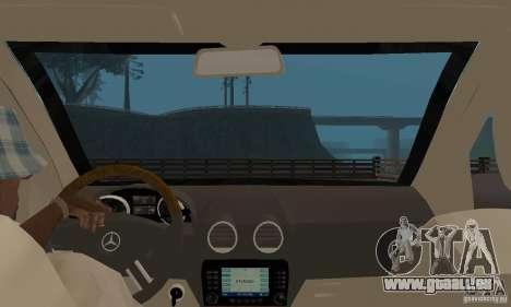 Mercedes-Benz GL500 pour GTA San Andreas vue arrière