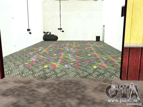 Neue Farbe-Garage in Dillimore für GTA San Andreas zweiten Screenshot