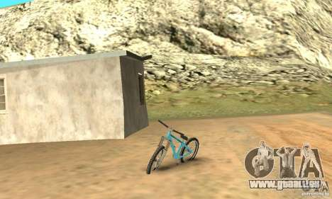 Dirt Jump Bike für GTA San Andreas linke Ansicht