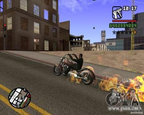 Ghost Rider für GTA San Andreas her Screenshot