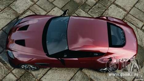 Aston Martin V12 Zagato 2011 v1.0 für GTA 4 rechte Ansicht