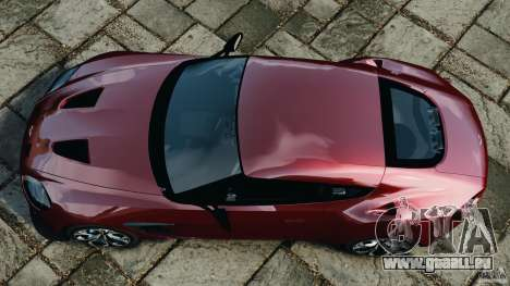 Aston Martin V12 Zagato 2011 v1.0 pour GTA 4 est un droit