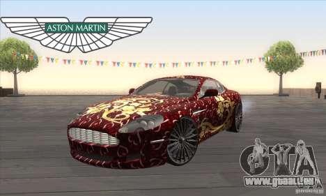 Aston Martin DB9 Female Edition pour GTA San Andreas
