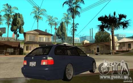 BMW M5 E39 530tdi Touring für GTA San Andreas rechten Ansicht