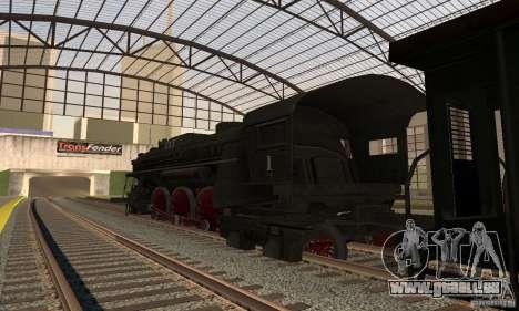 Lokomotiv, 1941 pour GTA San Andreas laissé vue