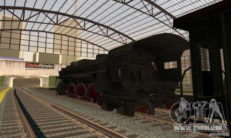 Lokomotive, 1941 für GTA San Andreas linke Ansicht