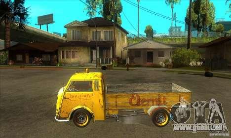 Tempo Matador 1952 Bus Barn version 1.1 pour GTA San Andreas laissé vue