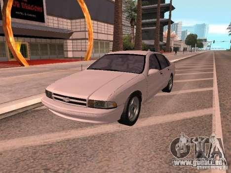Chevrolet Impala SS 1995 für GTA San Andreas